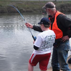 fish on volunteer