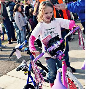 prize bike girl